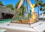 Bar a feu Pyramida flamme