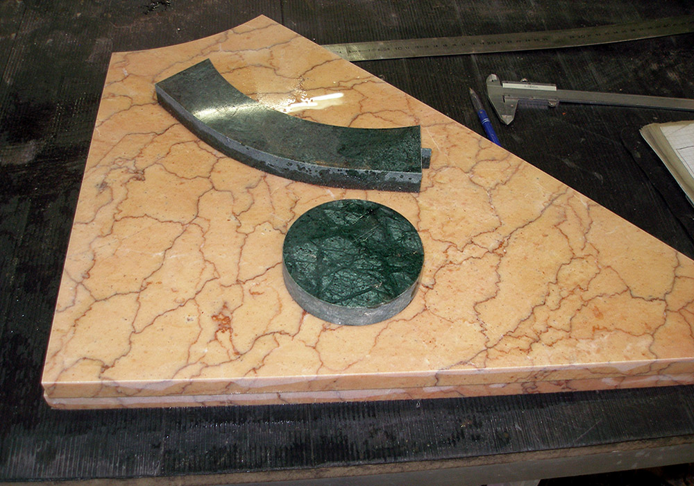 Découpe marbre
