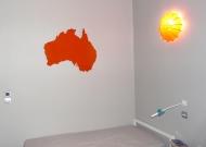Découpe carte Australie