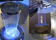 Fontaine inox poli miroir