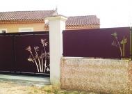 Portail et brise vue Bambou